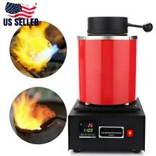 Pro 1500W 3KG Electric Melting Furnace Gold Silver Metal Smelter Jewelry Tool
