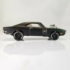 Hot Wheels '70 Dodge Charger R/T Matte Black 2015 Fast & Furious Loose