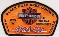 BSA BLACK HILLS AREA COUNCIL SD CRAZY HORSE OA 171 2018 NOAC CSP HARLEY DAVIDSON