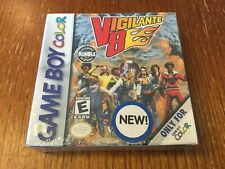 Factory Sealed Vigilante 8  (Nintendo Game Boy Color GBC) NEW