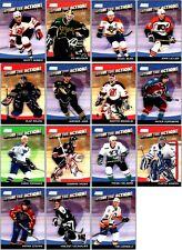 2000-01 STADIUM CLUB CAPTURE THE ACTION INSERT CARDS - PICK SINGLES - FINISH SET