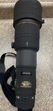 Sigma EX DG APO HSM IF 500mm f/4.5 APO HSM DG EX Lens For Canon