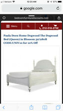 Paula Deen Home Universal Dogwood Collection Blossom finish low post queen bed