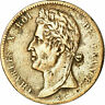 [#860830] Coin, FRENCH COLONIES, Charles X, 5 Centimes, 1825, Paris, VF(30-35)