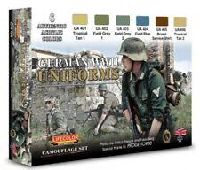 Colori Acrilici Lifecolor CS04 Uniformi Tedesche Set 1 6 tinte