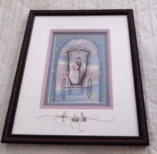 "P BUCKLEY MOSS ""LOVE'S COMMITMENT""  MATTED, FRAMED & SIGNED SOLD OUT RARE PRINT"