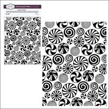Candy Burst embossing folder - Creative Expressions embossing folders Christmas