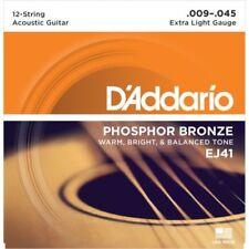 Pièces et accessoires rouge D'Addario pour guitare et basse