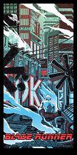 "Blade Runner ""TEARS IN THE RAIN"" Exclusive Poster Tim Doyle S/N/200 NT Mondo"