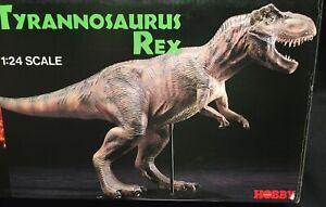 Jurassic Park Tyrannosaurus Rex 1:24 Scale 1992 TSUKUDA Hobbies Vinyl Kit MIB