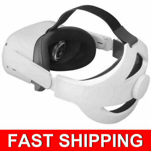 For Oculus Quest 2 Comfortable Adjustable VR Glasses Strap Head Headband Equip