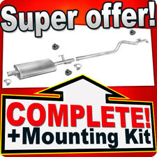 VW Volkswagen LT 28 35 46 - 2.5 SDI 2.8 TDI Long LWB 3550mm Exhaust Silencer 492