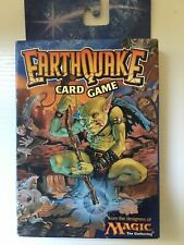 Earthquake Card Game Magic The Gathering Wizards Of The Coast Card Game Rare!