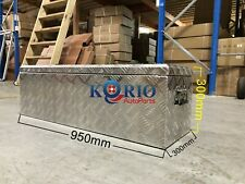 Aluminium Toolbox Top Open Rectangular UTE TRUCK TRAILER Tool Box 950x300x300mm