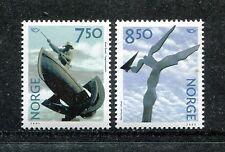 Norway 1327-1328, MNH, Modern Art  2002. x23335