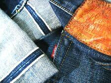 HOT J LVC Men LEVI'S 501 BIG E SELVEDGE Single DARK Denim Jeans 31x34 *Fit 28x32