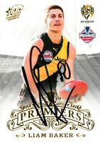 ✺Signed✺ 2019 RICHMOND TIGERS AFL Premiers Card LIAM BAKER