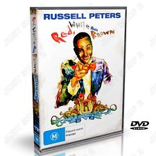 Russell Peters Red White And Brown : Stand Up Comedy : New DVD