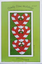 Candy Cane Holidays Place Mats Table Runner Table Topper - PATTERN ONLY