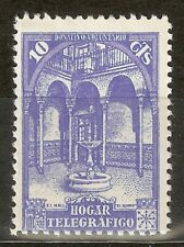 1937 BENEFICENCIA HOGAR TELEGRAFICO EDIFIL 10A*