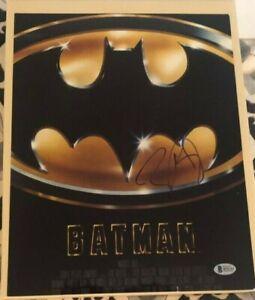 Tim Burton signed autographed 11x14 Photo Batman Beckett Authenticated COA