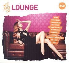 ALL YOU NEED IS: LOUNGE 3 CD NEUF