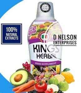 KINGS HERBAL Fruits Vegetables & Herb Fusion Food Supplement  (750 ml)