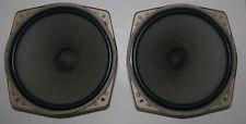 2 x  haut parleurs vintage  ITT LPT 300  –  8 Ω