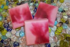 HOME-MADE GOATS MILK/SHEA BUTTER & OLIVE OIL SOAP BAR PEPPERMINT SWIRL....4 oz