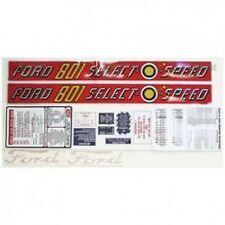 New Ford 801 Select-O-Speed Complete Decal Set