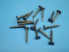 100 Bär Kammzwecken,Blauköpfe,Polster-Nägel 1,4 x 13 mm Drahtstifte