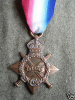 BRITISH ARMY 1914 TO 1915 STAR AWARDED TO 21101 PTE.J.HEPWORTH.YORKS.LI.