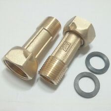 1 Pair Union Coupling PF 3/4 to PT 1/2  54mm long for water meter,tubing works