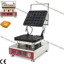 Commercial Nonstick Electric Square Mini Pastry Pie Tartlet Shells Maker Machine