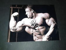 """Dorian Yates PP firmato 10 """"x8"""" foto repro Bodybuilding l'onorevole OLIMPIA"""