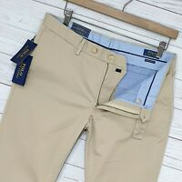 ⭐ Mens POLO RALPH LAUREN Newport slim fit stretch chino trousers size W33 L34