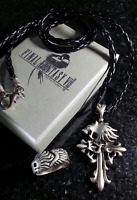 Final Fantasy VIII Squall Griever Necklace & Ring | FF8 Cosplay Kingdom Hearts
