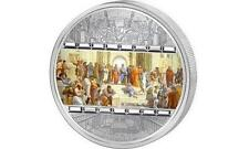 Cook 2008 $20 Masterpieces of Art Raphael School of Athens 3oz Silver Proof Coin