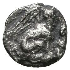 Koc Greek Coins.TROAS. Gergis. Hemiobol.7mm.0,39g.(4th century BC).