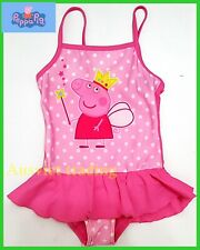 NEW PEPPA PIG GIRLS KIDS SWIMWEAR SWIM SUIT SWIMMING BATHERS swimsuit age 5-6