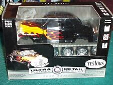 TESTORS 1941 CHEVY CUSTOM COUPE MODEL KIT 1/24 SKILL 2 BLACK