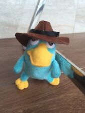 "Perry the Platypus 6"" Inch Plush Stuffed Toy New Phineas and Ferb Key chains"