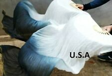 Belly Dance Silk Fan Veils 100% Top Quality USA Store  FREE CASE