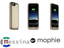 Mophie Juice Pack Air 100% costruito Batteria Custodia Per iPhone 6 & 6s-ORO 2750mAh