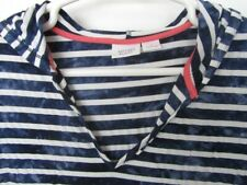 Antibes Blanc Hooded Top/Swim Suit Cover UP-Size 1x