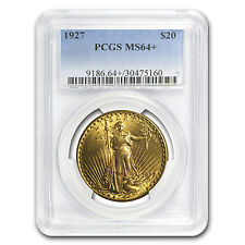 $20 Saint-Gaudens Gold Double Eagle MS-64+ PCGS (Random) - SKU #64702