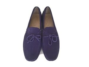 Tod's Mens Gommino Suede Driving Shoes 10