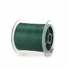 Green 300M 20LB Dyneema Fishing Line Braided 4 Strands Polymer Fiber
