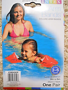 Deluxe Water Arm Bands for children 3-6 years old, Intex, brand new
