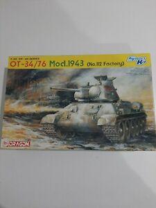 Dragon OT-34/76 mod 1943 No 112 factory 1/35th smart kit